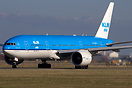 KLM's first Boeing 777-200/ER to carry KLM Asia titles.
