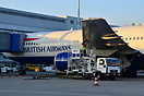 British Airways Boeing 767-300 G-BZHB being refuelled at Athens Airpor...