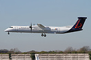 Brussels Airlines have leased 2 Bombardier Dash-8 400 aircaft from Fly...