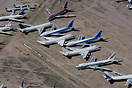 Airliners on storage at Pinal Airpark