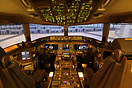 Boeing 777-200 simulator at Air France.