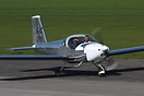 Vans RV-12 G-CGYI seen here at Breightons 1st fly in of the year