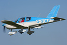 G-GOLF seen here arriving at a sunny Breighton for the first fly in of...