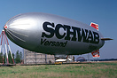 "Distributor ""Schwab Versand Hanau"" promotion colours."