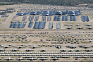 Overview of Davis Monthan AFB boneyard