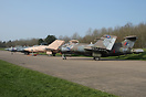 XX900 with XX889 and XX894 during the day time at Bruntingthorpe.
