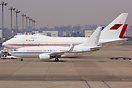 This Boeing Business Jet BBJ A6-DAS of Royal Jet brought in the Palest...