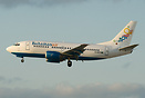 First Boeing 737-500 for Bahamasair. UP221 {NAS-MIA will be operated w...
