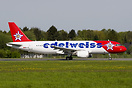 New A320 for Edelweiss Air. Ex Swiss.