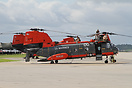 The Boeing Vertol HH-46E Sea Knight is used by the Marines for search ...