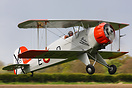 G-BVXJ a pristine looking Bucker Jungmeister seen here at the May Fly-...