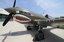 Curtiss P-40E Warhawk N1941P at the Military Aviation Museum in Virgin...
