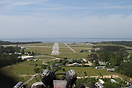 Final approach to runway 23 at Manteo - Dare County Regional Airport, ...