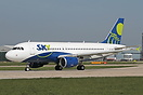 This former Easyjet Airbus A319 has been sold to Sky Airline and regis...