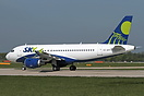 This former Easyjet A319 has been sold to Sky Airline and registered C...