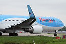 Boeing 767-300 G-OBYG in the brand new 'Thomson Airways Dreamliner' co...