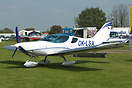 The new Czech Sport Aircraft PS-28 Cruiser on display at AeroExpo UK 2...