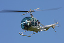 A rare catch to see Hiller UH-12E G-ASAZ Helicopter flying. It appeare...