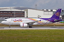 HS-TXA is the first of 12 Airbus A320 aircraft ordered for the new low...