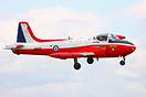 Hunting P-84 Jet Provost T3A XM479 seen here arriving at Waddington Ai...
