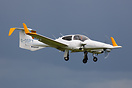 This DA-42 Twin Star seen here at Waddington Airshow has been working ...