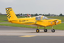 Pazmany PL-2 seen here taxi at Waddington Airshow 2012