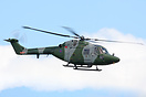 Army Lynx XZ196 seen here putting on the best Lynx display of flying I...