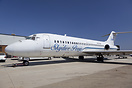 This is the only DC-9 in the world used for Skydiving.
