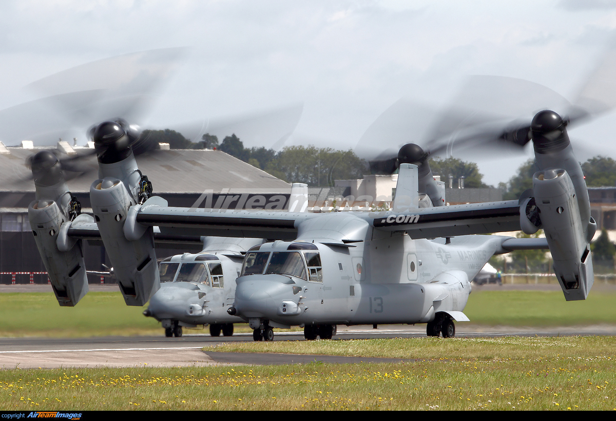 Bell-Boeing MV-22B Osprey - Large Preview - AirTeamImages.com