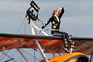 New wingwalker Freya Paterson joined the team in April and has been tr...