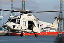 Netherlands Navy NH Industries NH-90 arriving for the 32th Navy Days i...