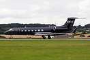 Gulfstream G550 N96UA operated by Under Armour an American sports clot...