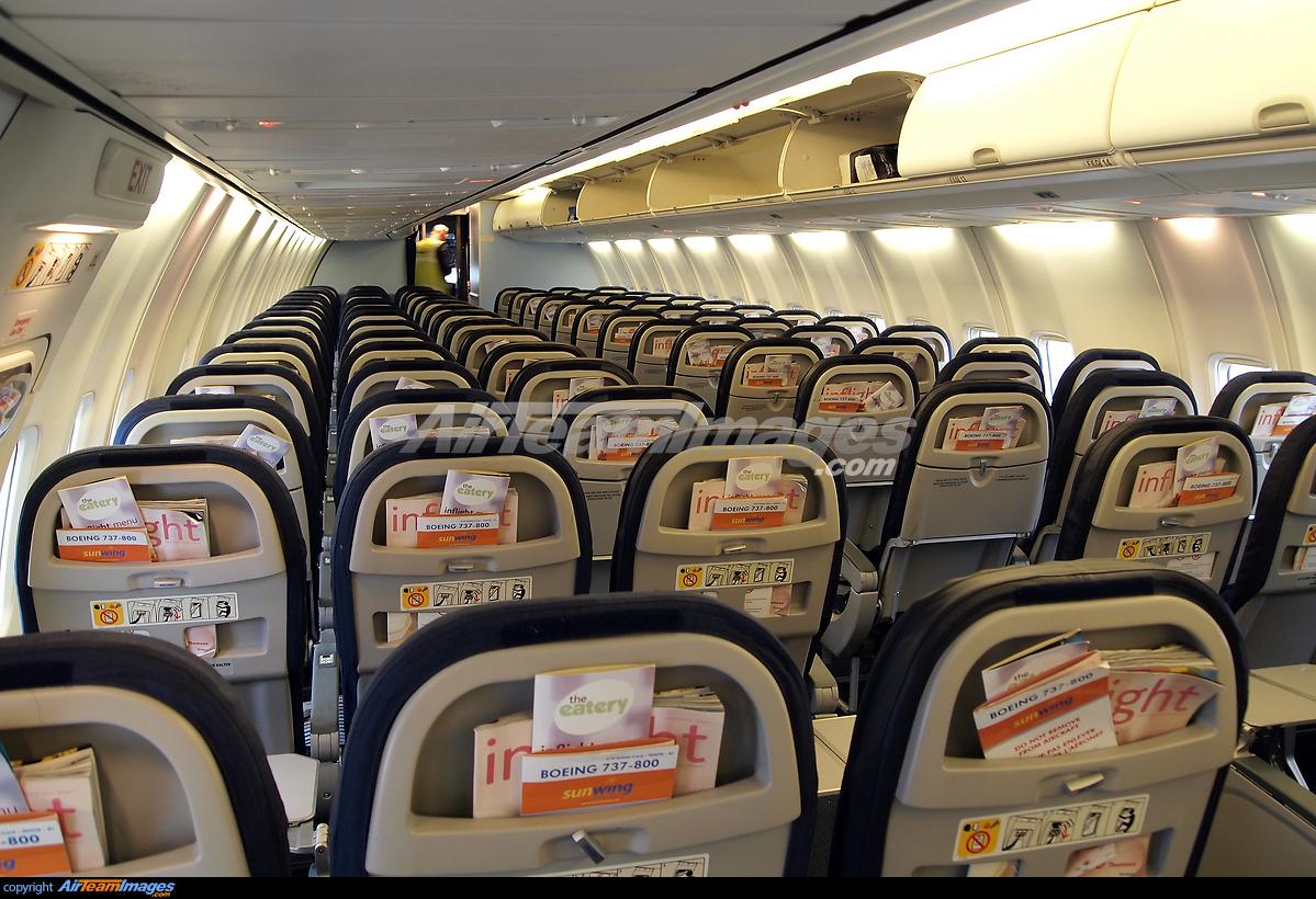 Boeing 737 800 interior for Interieur avion ryanair