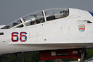Su-30 close up, note the Lipetsk Aviation Centre badge to the rear of ...