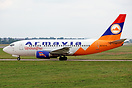 Armavia 737-500 EK73775 has recently been painted into the airline's f...