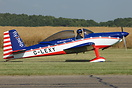 Van's RV-8 G-LEXY flown by Andy Hill of the RV8tors display team at Br...