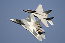 Sukhoi T-50 and MiG-35D