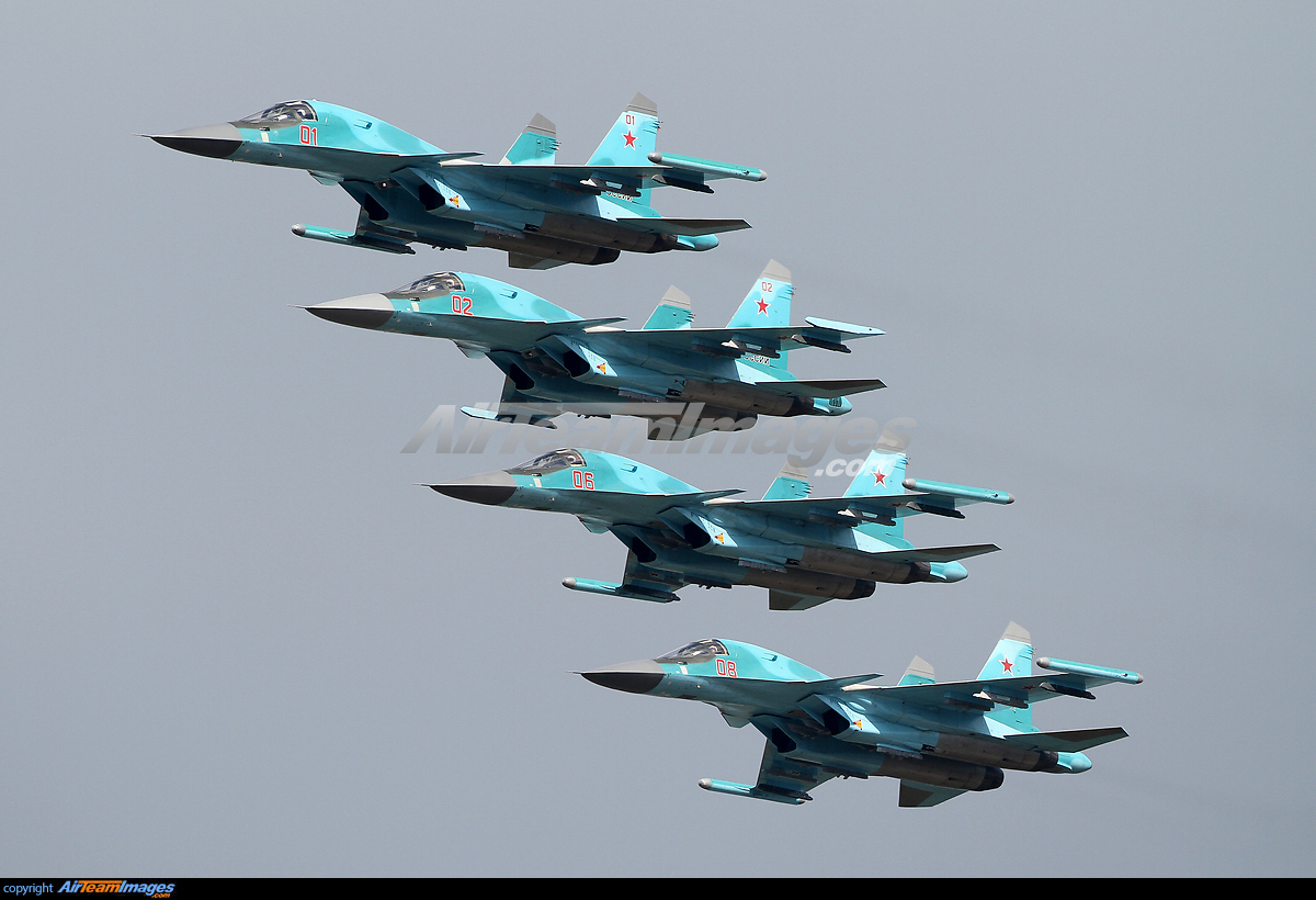 Su-34 Sukhoi Fighter-Bombers