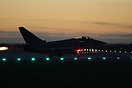 FGR4 QO-W of 3 Sqn about to depart for night flying at Coningsby