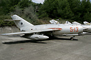 MiG-15bis 5-13 (c/n 0113) initially served with the Soviet AF before b...