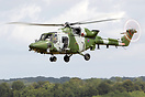 Westland Lynx AH9A ZF538 on final approach for the Forward Arming and ...