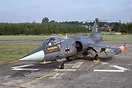 F-104G 2057 of JbG33 at Buchel in the early 1980s. The unit converted ...
