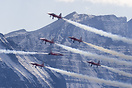 Axalp 2005 - Patrouille de Suisse with their Tunnel formation