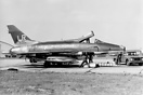 F-100D 63239 of the 492 TFS 'Bolars' at Lakenheath served with the squ...