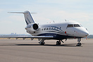 C-GXPZ Challenger 601 parked at Rocky Mountain Metropolitan Airport wi...