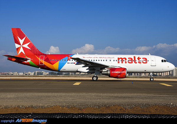 Airbus A320-214 (9H-AEN) Aircraft Pictures & Photos