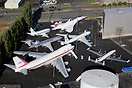 "Overview of the ""Museum of Flight"" at Boeing Field"