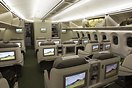 look at the first class cabin