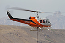 This Bell 205 N765H was part of a fire fighting force brought in to co...