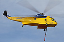 This Sikorsky S-61 was built in 1960 and has been converted for fire f...